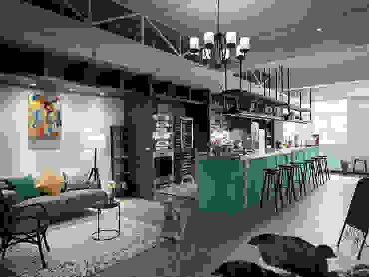 玩食樂章-烘培坊的整體氛圍 根據 一水一木設計工作室 隨意取材風