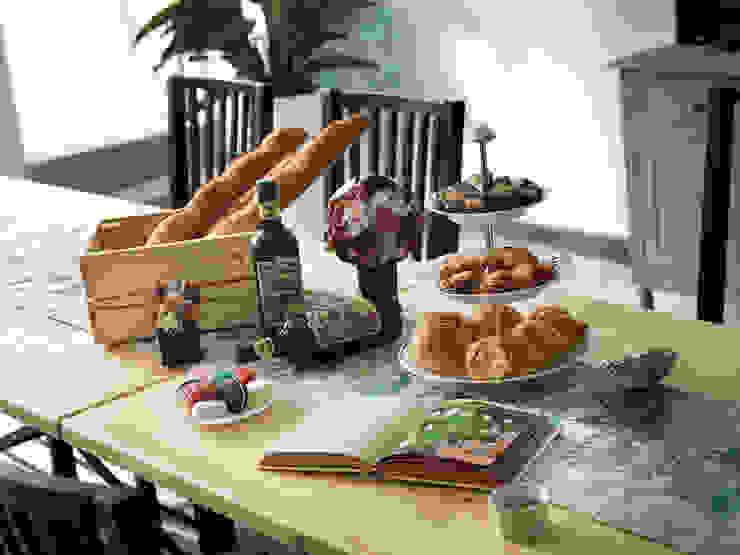 桌上美味佳餚 根據 一水一木設計工作室 隨意取材風 木頭 Wood effect