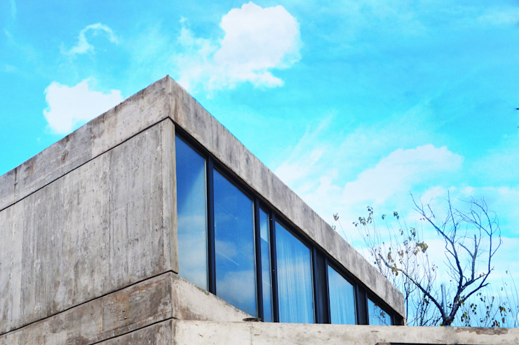 di Horizontal Arquitectos Minimalista Cemento