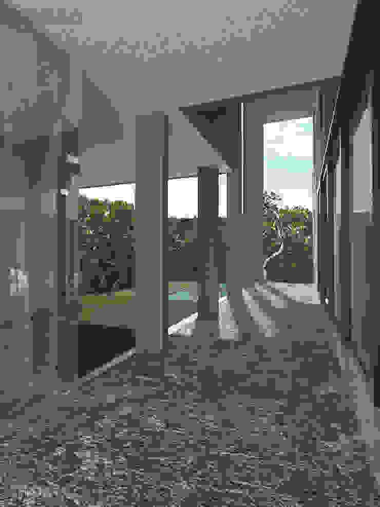 - Balkon, Beranda & Teras Modern Oleh MODULA Modern