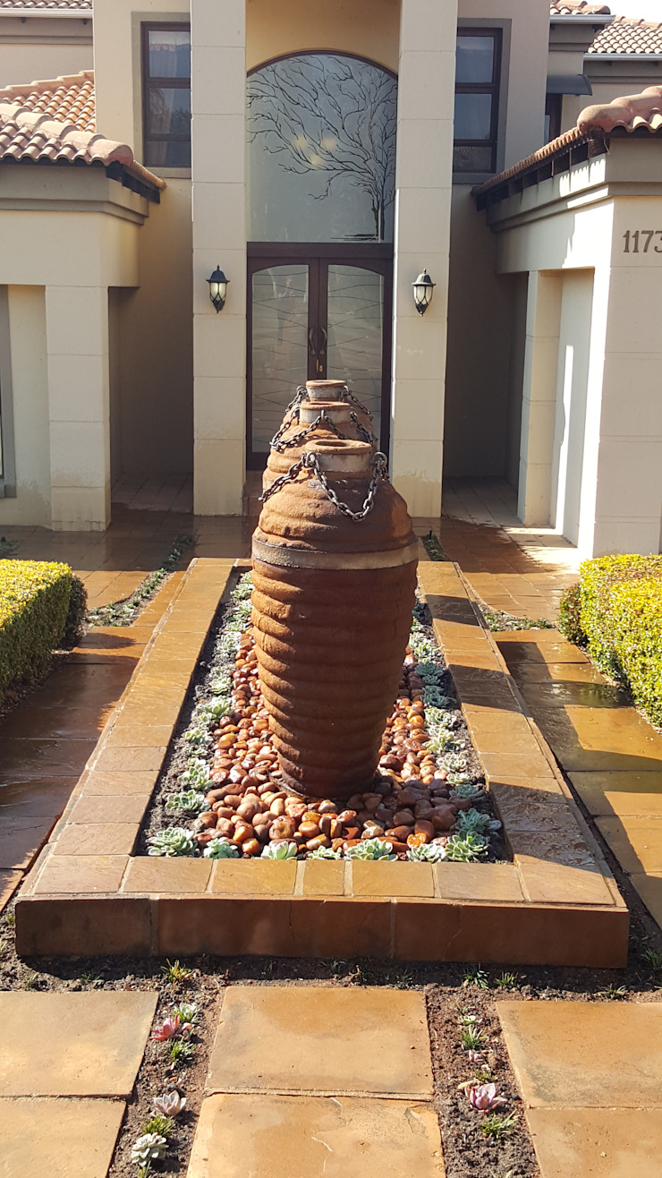 FInal view of fountain by SOJE Interior, Design and Decor PTY (Ltd)
