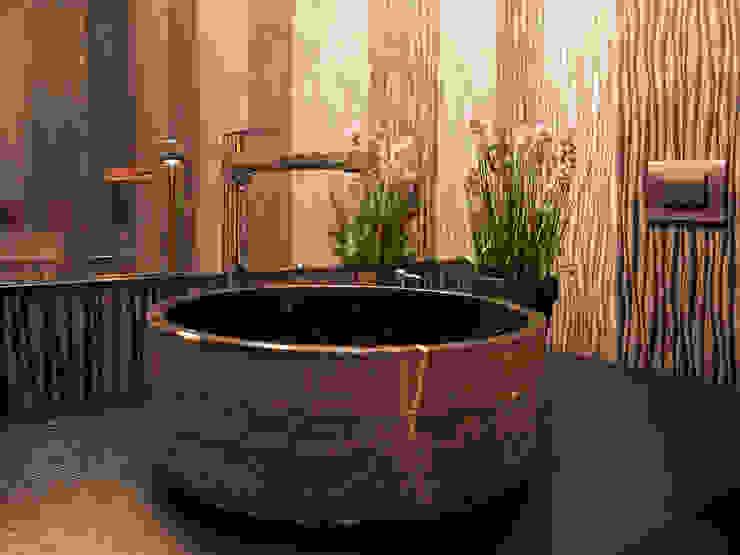 Baños de estilo  por Bauer Arquitectos