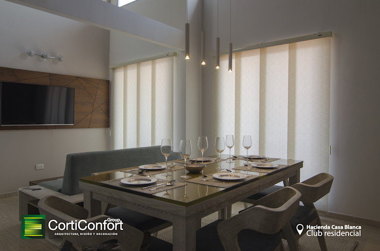 Hacienda Casa Blanca – Yopal,Casanare de CortiConfort Minimalista
