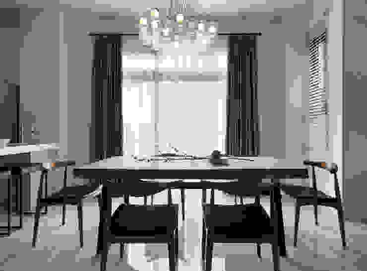Dining room by 夏沐森山設計整合, Modern