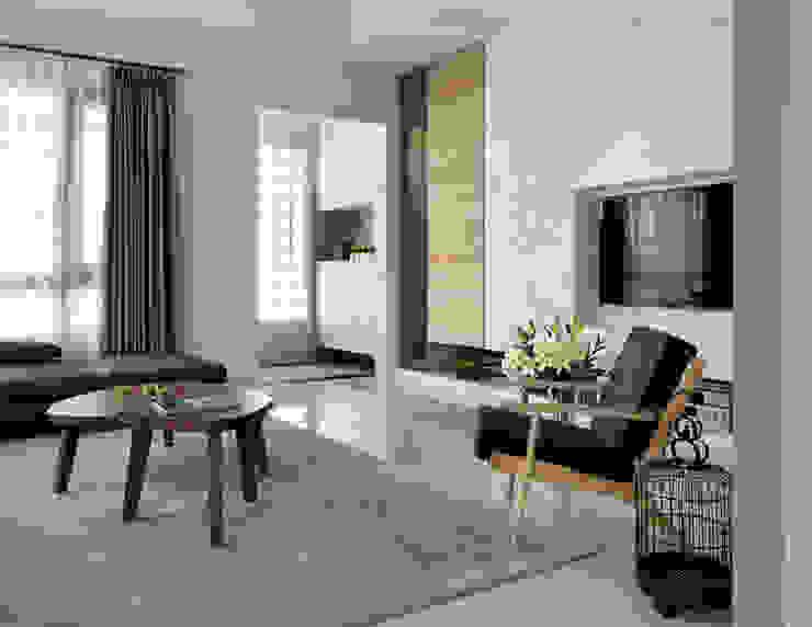Living room by 夏沐森山設計整合, Modern