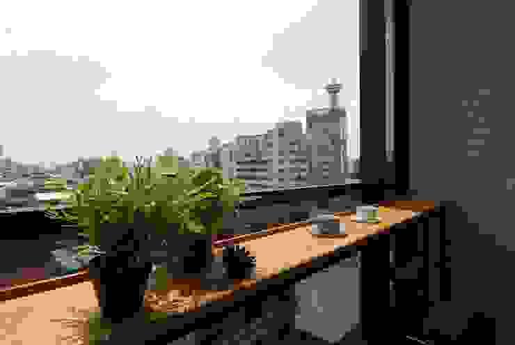 Terrazas de estilo  por 一穰設計_EO design studio