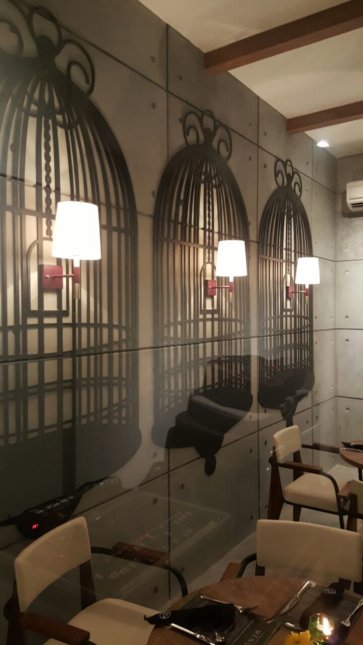 Vip room Gastronomi Gaya Industrial Oleh Kottagaris interior design consultant Industrial