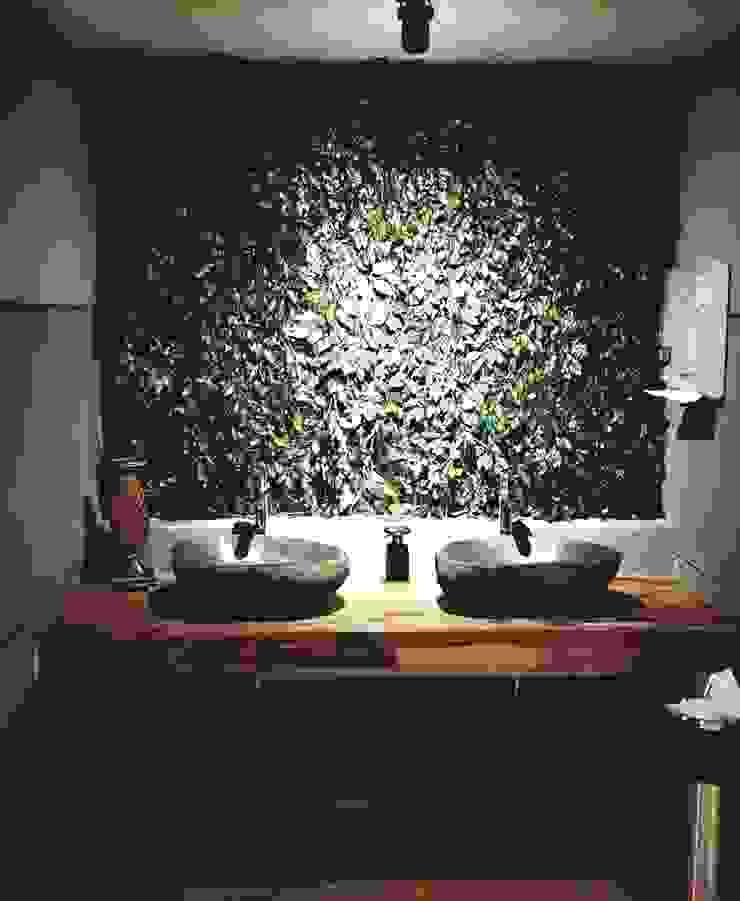 Lavatory area Gastronomi Gaya Industrial Oleh Kottagaris interior design consultant Industrial