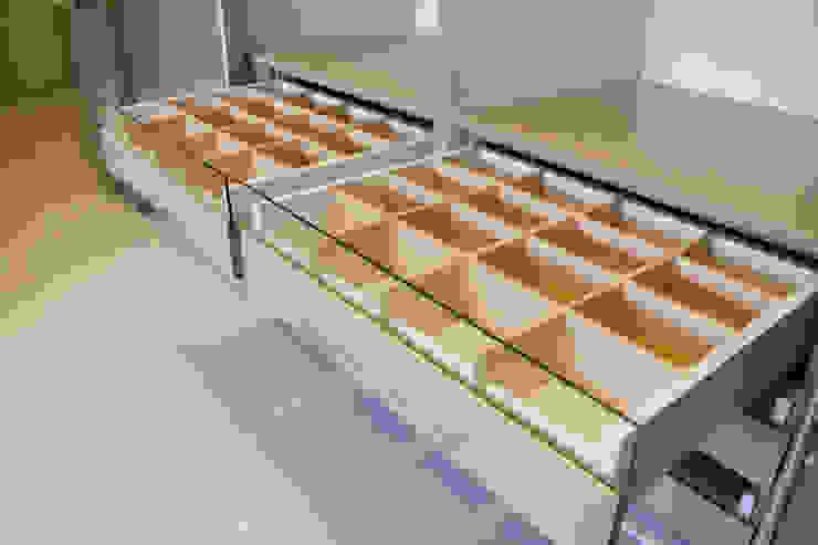 Graha family Blok J:modern  oleh KOMA living interior design, Modern Kayu Wood effect