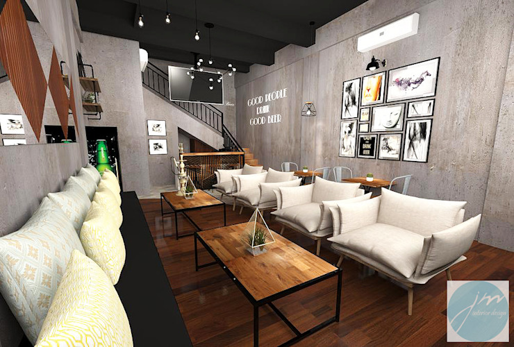 Nefes ID Cafe G-Walk Surabaya Oleh JM Interior Design
