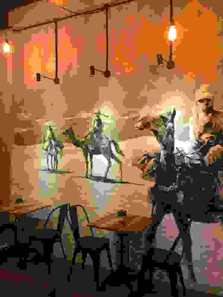 Nefes ID Cafe G-Walk Surabaya Dinding & Lantai Gaya Industrial Oleh JM Interior Design Industrial
