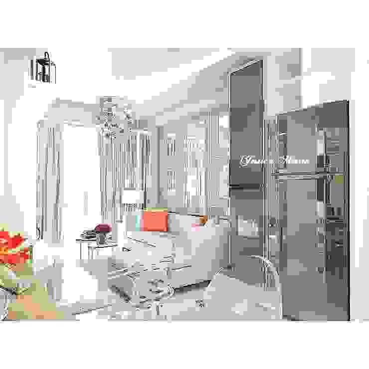 Apartment Surabaya Oleh JM Interior Design