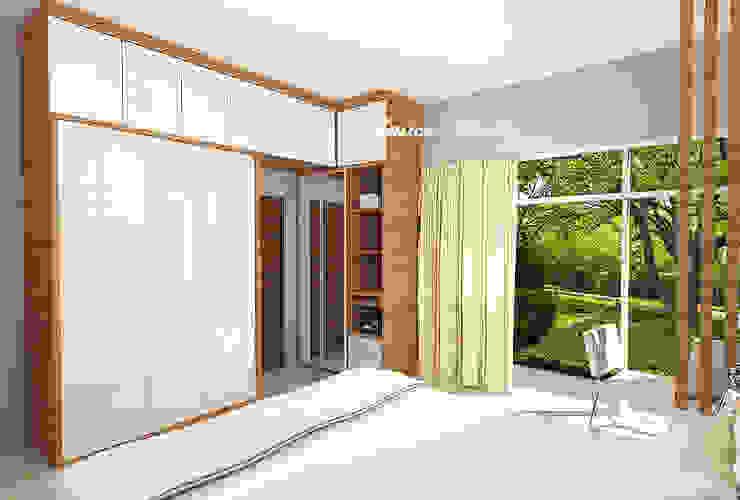 Master Bedroom Mr. Eka Raya Langsep Barat Malang Kamar Tidur Modern Oleh JM Interior Design Modern Kayu Lapis
