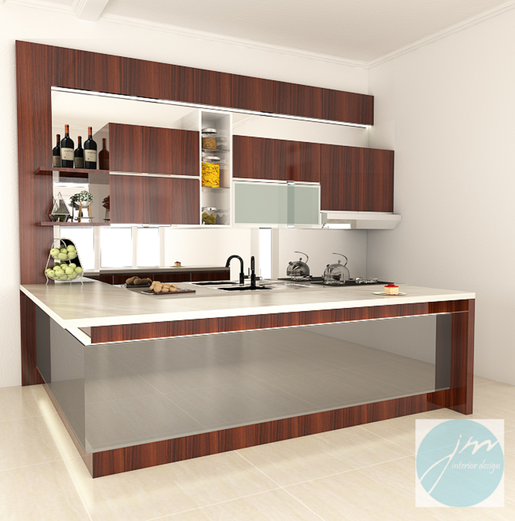 Pantry Mr. stephen Sidoarjo Oleh JM Interior Design