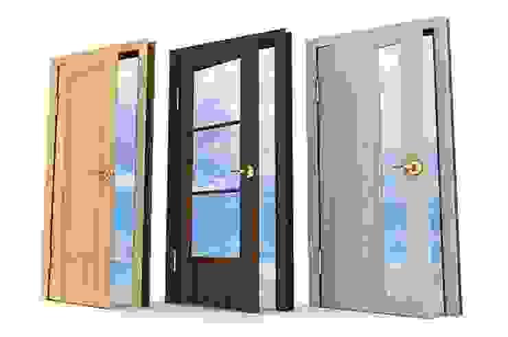 von Sistemacase Srls Modern Holzwerkstoff Transparent