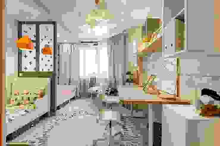 Teen bedroom by Школа Ремонта