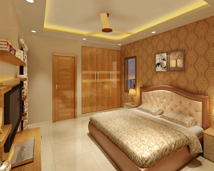 Classic style bedroom by Srijan Homes Classic