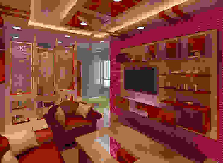 Salas de estar modernas por Srijan Homes Moderno