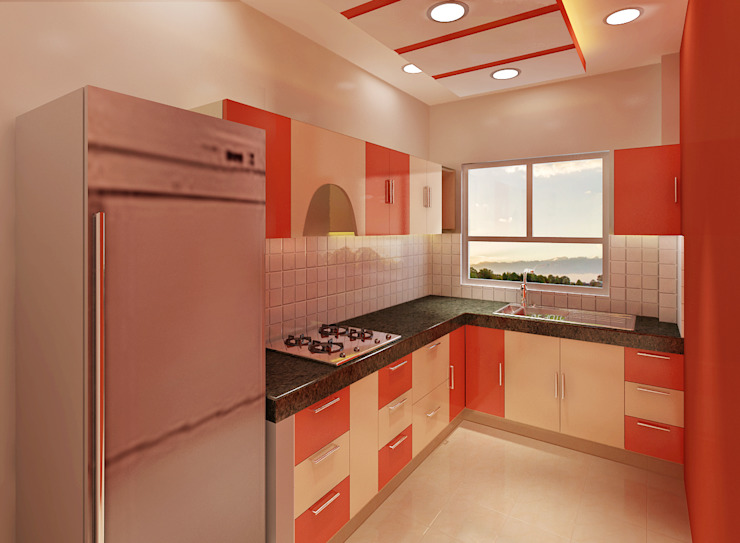 por Srijan Homes Moderno
