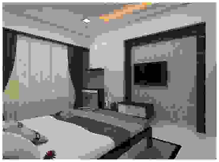 Our Work:  Bedroom by Shrishti Associates