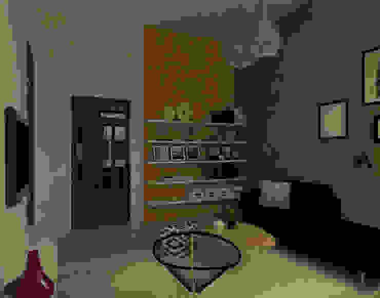 Living Livings modernos: Ideas, imágenes y decoración de Lacerra Arquitectura Moderno