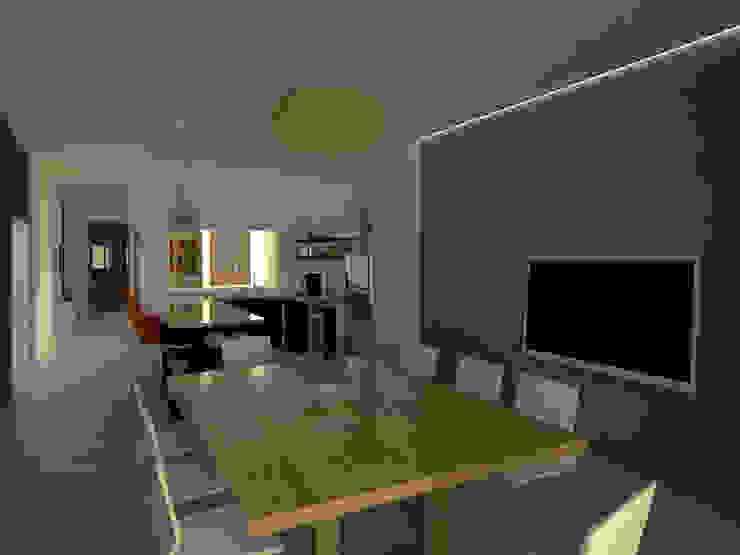 Cocina - Comedor Cocinas modernas: Ideas, imágenes y decoración de Lacerra Arquitectura Moderno