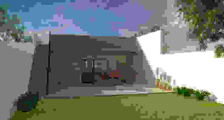 Contrafrente Casas modernas: Ideas, imágenes y decoración de Lacerra Arquitectura Moderno