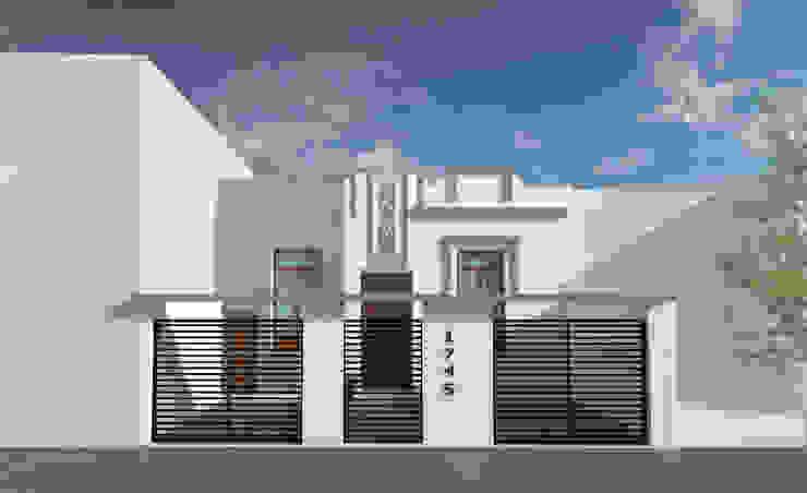 Fachada Casas modernas: Ideas, imágenes y decoración de Lacerra Arquitectura Moderno
