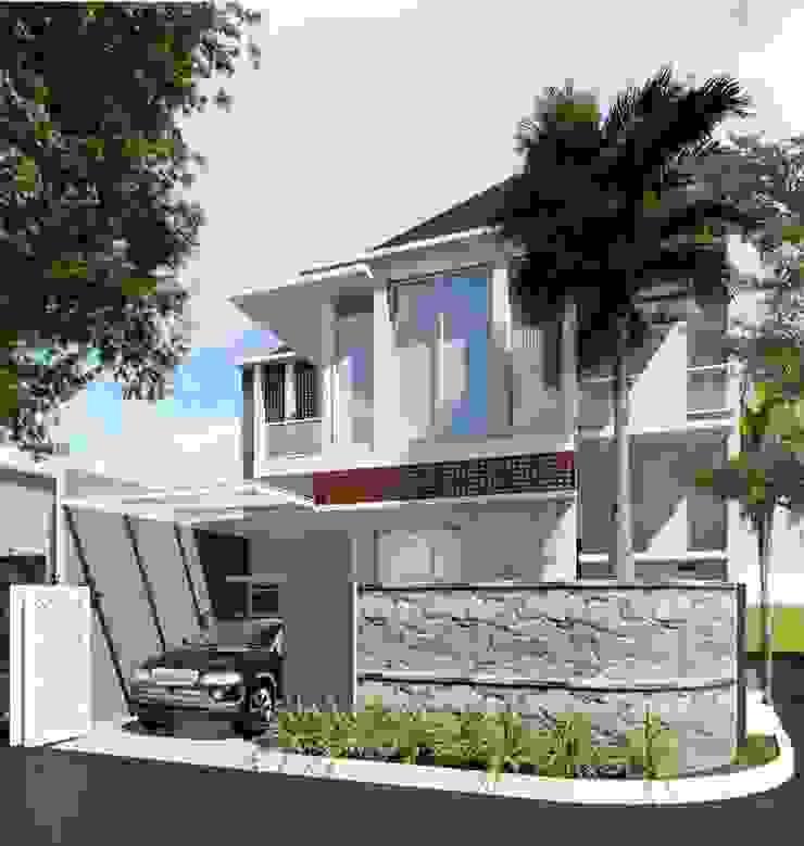 Rumah Tinggal Idealook Rumah Modern Beton Grey