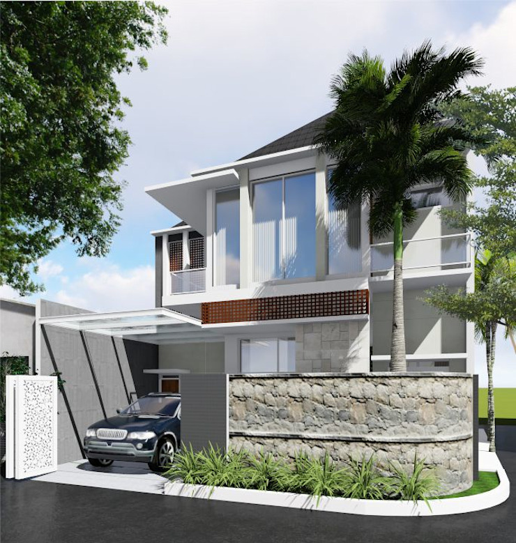 Rumah Tinggal Rumah Modern Oleh Idealook Modern Beton