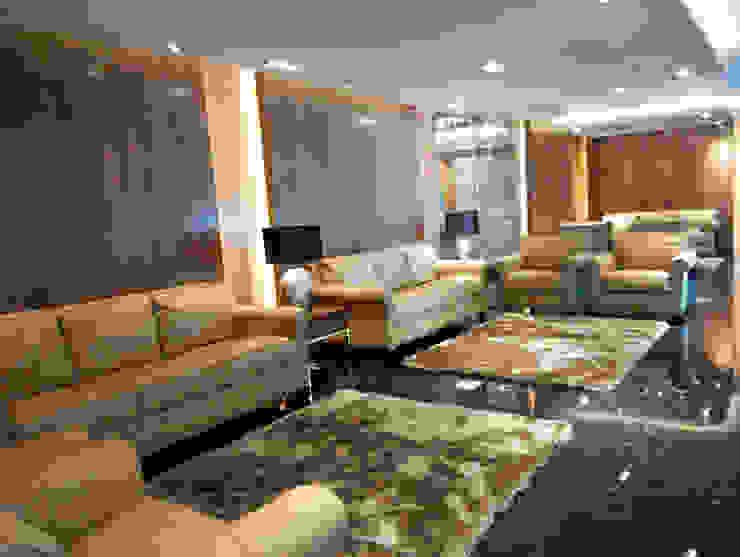 Office Lobby Ruang Studi/Kantor Modern Oleh ADEA Studio Modern