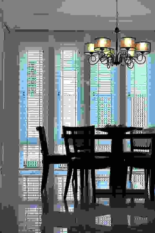 餐廳 根據 原形空間設計 現代風