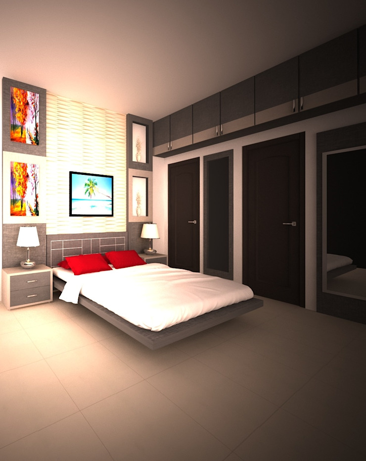 Modern style bedroom by adorn Modern