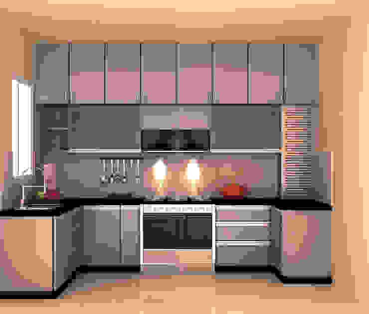 Modern kitchen by adorn Modern