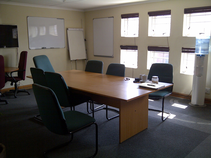 Fire and Security - Before Boardroom by Leone Truter Interiors