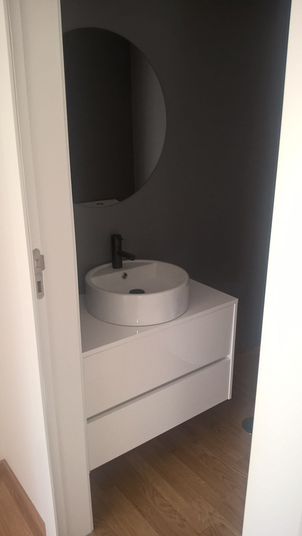 Instalação Sanitária por espaço MUDE