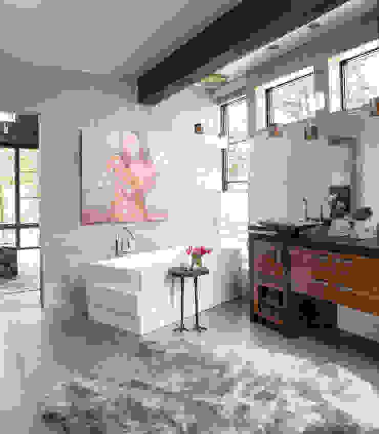 Andrea Schumacher Interiors ห้องน้ำ
