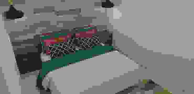 habitación con mucho estilo Habitaciones modernas de Naromi Design Moderno Madera Acabado en madera