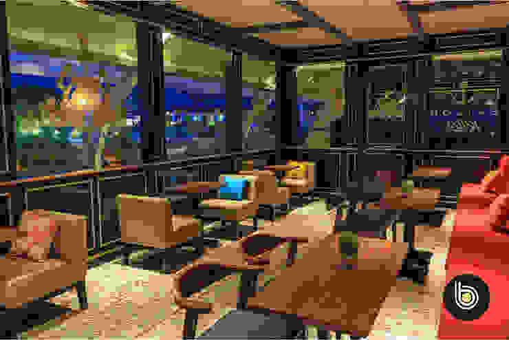 Riva Rooftop Bar & Restaurant Gastronomi Modern Oleh BB Studio Designs Modern