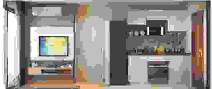 3ส่วน 3 Style ในการออกแบบลงไปในพื้นที่ โดย บริษัทเกรี้ยวกราดดีไซน์จำกัด