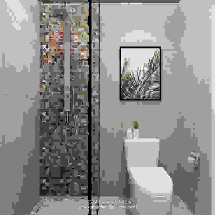 JESSICA DESIGN STUDIO Tropical style bathrooms