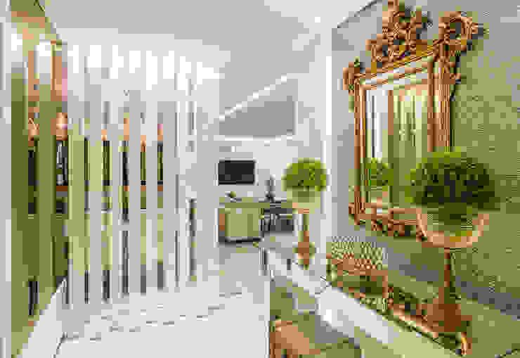 Pasillos, vestíbulos y escaleras de estilo moderno de VOBOL ARQUITETURA E INTERIORES Moderno
