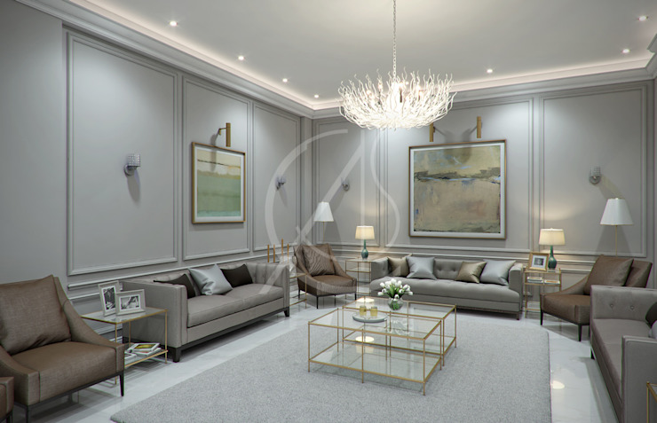 Majlis by Comelite Architecture, Structure and Interior Design Classic