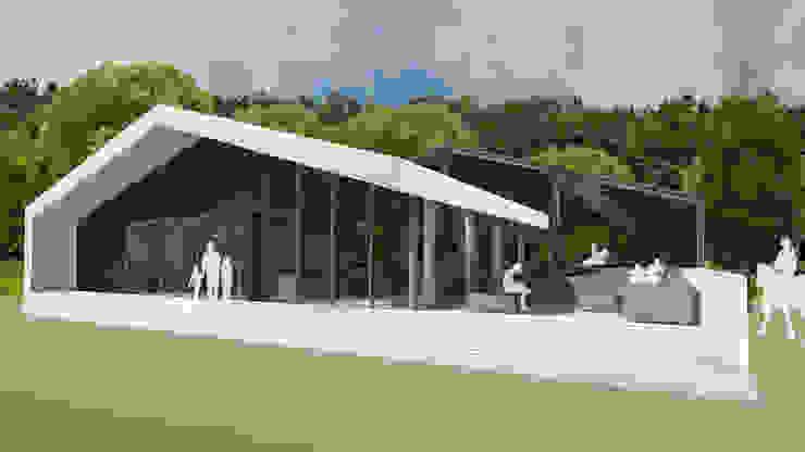 Multifunctioneel clubhuis / Manege Moderne evenementenlocaties van MOTUS architects Modern
