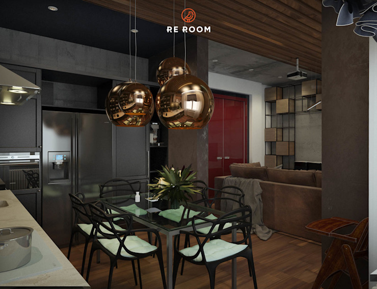 Reroom Industrial style kitchen