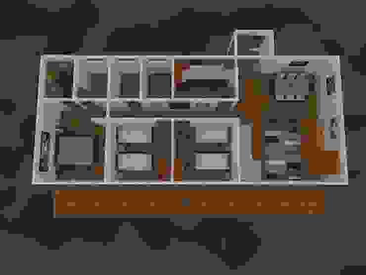Diseño de casas en 3D de Badich Arquitectura Y Costrucción SpA