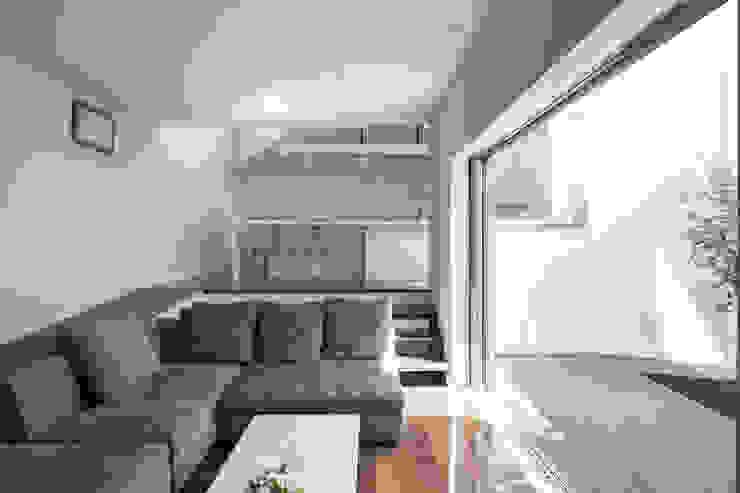 Projekty,  Salon zaprojektowane przez 前田敦計画工房,