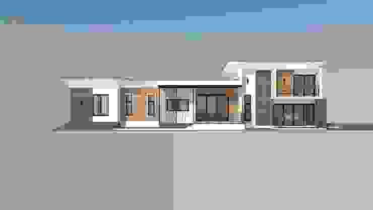 ผลงานของบริษัท โดย Mehome ออกแบบและรับสร้างบ้าน