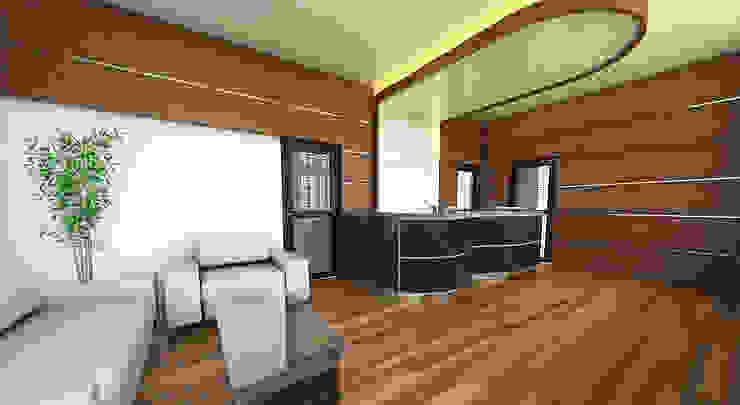 Interior Ruang LOBBY kantor Hukum dan Organisasi Unversitas Gadjahmada Yogyakarta by Celcius Indonesia Modern Plywood
