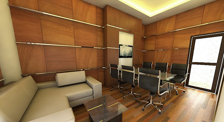 Interior Ruang meeting kantor Hukum dan Organisasi Unversitas Gadjahmada Yogyakarta by Celcius Indonesia Modern Plywood